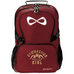 Metallic Gymnastic Girl Nfinity Bag