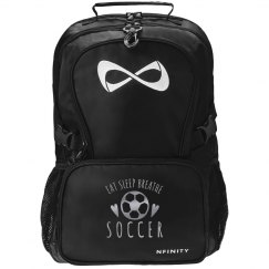 Eat Sleep Breathe Soccer Nfinity Bag
