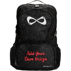 Personalized Metallic Nfinity Bag