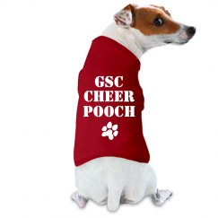 GSC Cheer Pooch FILM & FOIL DOG TANK TOP