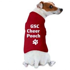 GSC Cheer Pooch FILM & FOIL DOG TANK TOP