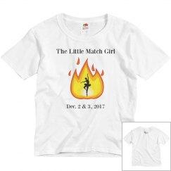 Female Youth Performance short sleeved t-shirt