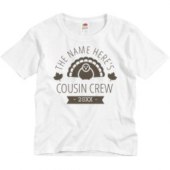 Custom Group Thanksgiving Cousin Crew