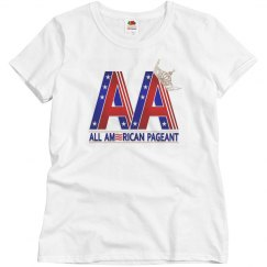 All American Pageant Ladies T-Shirt