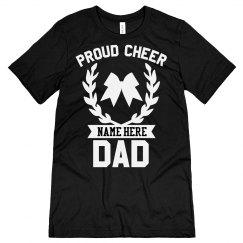 Custom Proud Cheer Dad