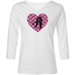 Mermaid Love Ladies Tee
