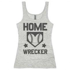 I Wreck The Softball Field