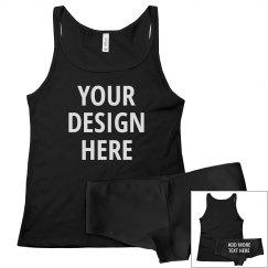 Custom Underwear Sleepwear Set