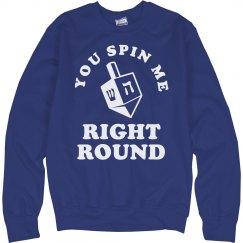 You Spin Me Dreidel