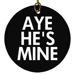 Aye He's Mine for Xmas