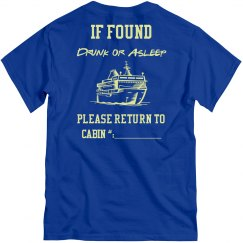 If Found Drunk or Asleep