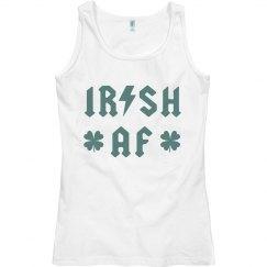 Irish Lightning Bolt Vintage Band Tank St. Patrick's