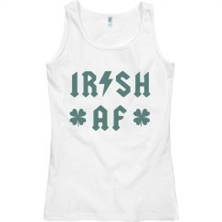 Irish Lightning Bolt Vintage Band Tank St. Patrick's