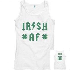 Irish AF Cusotm Name Number
