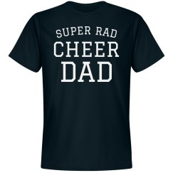 Super Rad Cheer Dad Tee