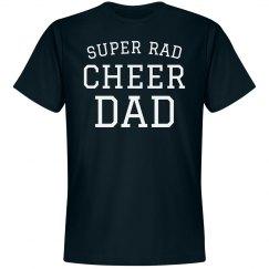 Super Rad Cheer Dad Tee