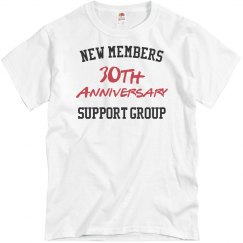 New members 30th anniversary