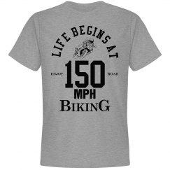 Life begins at 150