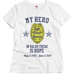Memorial Police Hero Tee