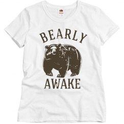 Bearly Awake Women's Tee