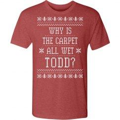 Margo Todd Christmas Sweater Couple