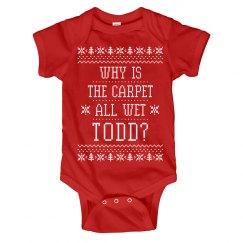 Funny Christmas Baby Margo Todd