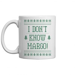 Todd And Margo Ugly Sweater Mug