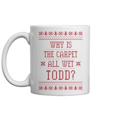 Why Is The Carpet All Wet Todd Gift