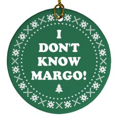 Todd And Margo Christmas Ornament