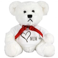 Love Mum Cuddly Bear
