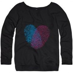 Printed hearts