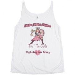Ladies Flowy Slouchy Tank