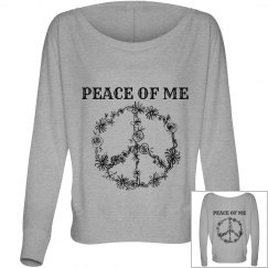 PEACE OF ME long sleeve tee