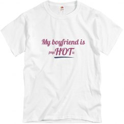 boyfriend is HOT blue