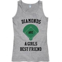 Diamonds girls friend