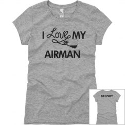 I LOVE MY AIRMAN