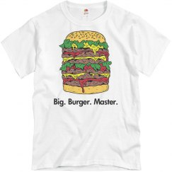 Big Burger Master Dad