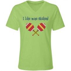 I like mine shaken...Vneck