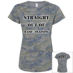 Straight outof basic army