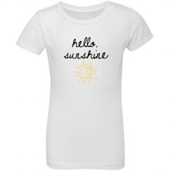 Hello Sunshine Youth Tee