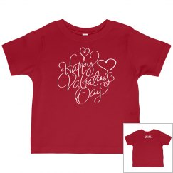 Toddler Valentine Tee