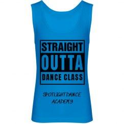 Straight Outta Dance Tank