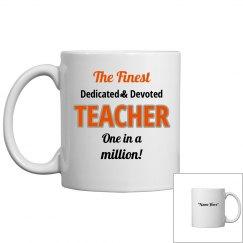 Dedicated & devoted teacher