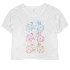 Tri Color Vintage Bike