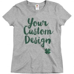 St. Patrick's Day Women's Custom