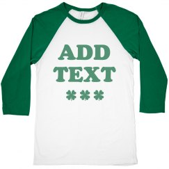 Create Your Own St. Patrick Raglan