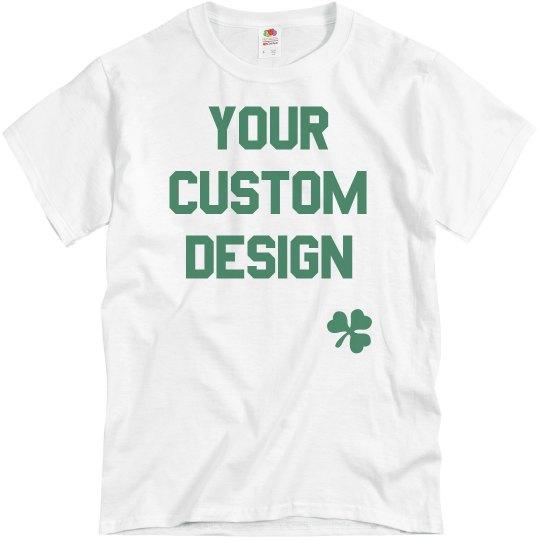 24f6cbc21 Custom St. Patrick's Day Shirts Unisex Basic Promo T-Shirt