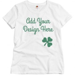 Cute St. Patrick's Day Custom Women