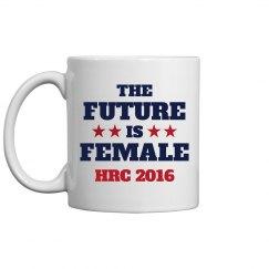 Future Is Female Hillary Clinton