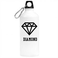 diamond water bottle